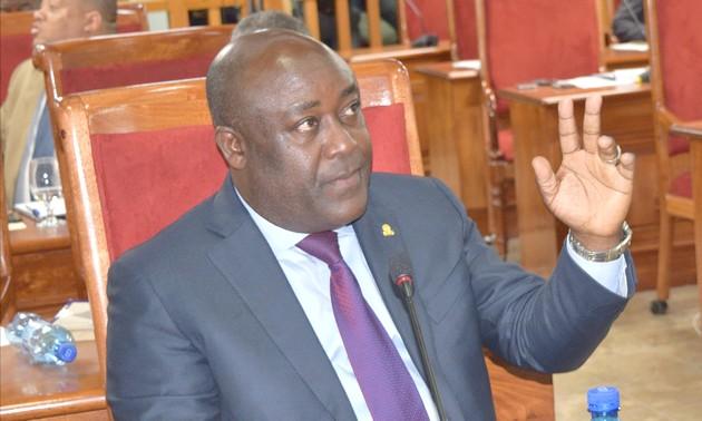 Senator Evallière Beauplan, voorzitter CSSE