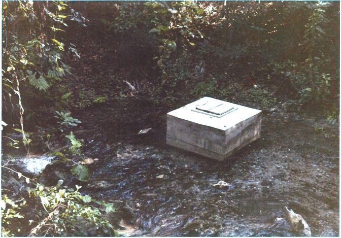 Gecapteerde bron voor waterleiding