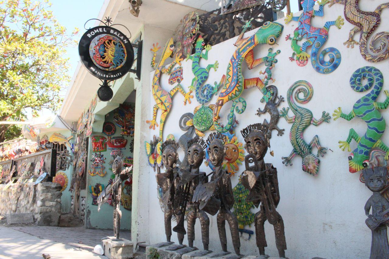 Metaalkunst maakt deel uit van het culturele erfgoed van Haïti
