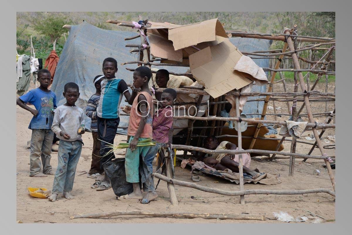 Jongeren in Kamp Parc Cadot