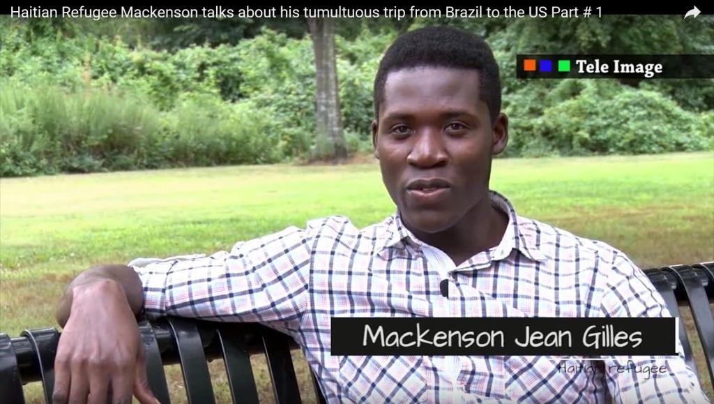 Mackenson doet zijn verhaal