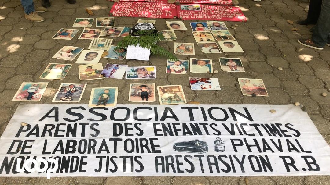 Ouders slachtoffers Pharval  verenigen zich in de actie