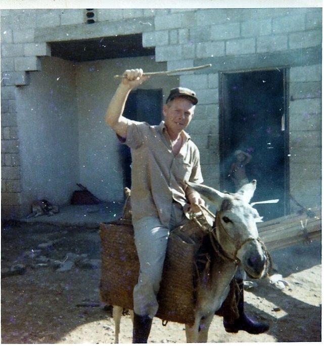 Piet Van Kampen per ezel