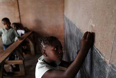 Schoolkind – Hector Retama AFP/com