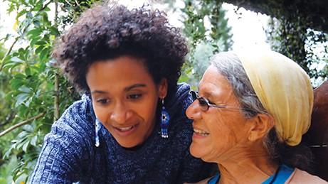Jane Wynn en haar dochter Melissa Day (Foto van Danielle Dreis)